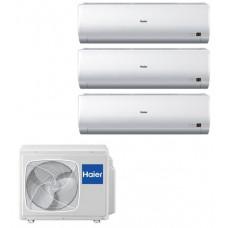 Комплект мульти-сплит системы Haier на 3 комнаты 3U24GS1ERA(N) / AS07BS4HRA / AS09BS4HRA