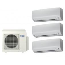 Мульти сплит система на 3 комнаты DAIKIN 3MXS68G / FTXB25B1V1 3 шт
