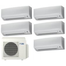 Мульти сплит система на 5 комнат DAIKIN 5MXS90E / FTXB25B1V1 5 шт