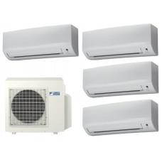Мульти сплит система на 4 комнаты DAIKIN 4MXS80E / FTXB25B1V1 4 шт