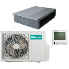 Инверторный канальный кондиционер Hisense AUD-24UX4SLL1 / AUW-24U4SF1