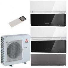 Комплект мульти-сплит системы Mitsubishi Electric MXZ-5E102 VA / MSZ-EF22 VE (B/W/S)-5шт