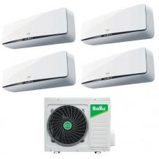 Мульти-сплит комплект на 4 комнаты BALLU B4OI-FM/out-28HN1 / BSEI-FM/in-07HN1 - 4 шт.
